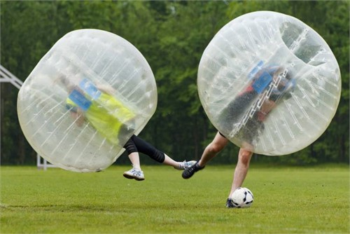Bubble Soccer - Rahmenprogramme in der Schweiz - MICE Service Group