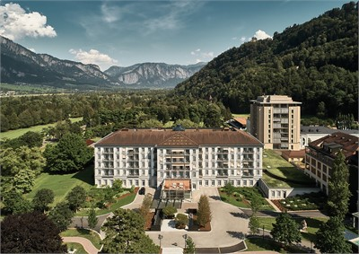 Grand Resort Bad Ragaz - Aussenansicht - MICE Service Group
