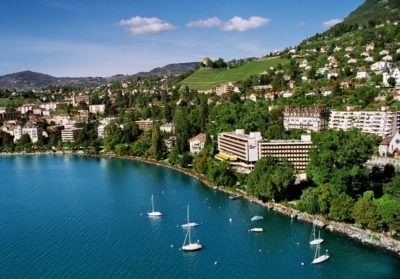 Royal Plaza Montreux & Spa - Aussenansicht - Seminarhotels Schweiz - MICE Service Group